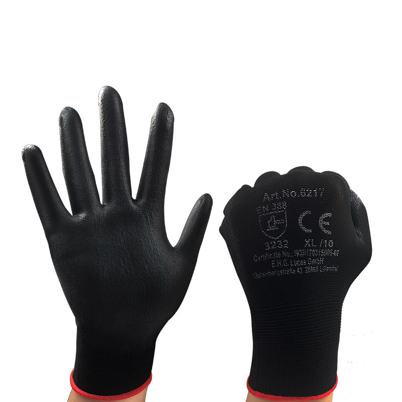 Anti cut safety gloves PU coating XL Multipurpose working gloves for garden Builders Car repair House cleaning Hand protection