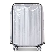 Full Transparent Luggage Protector Cover Thicken Suitcase Protector Cover PVC Suitcase Cover Rolling Luggage Cover