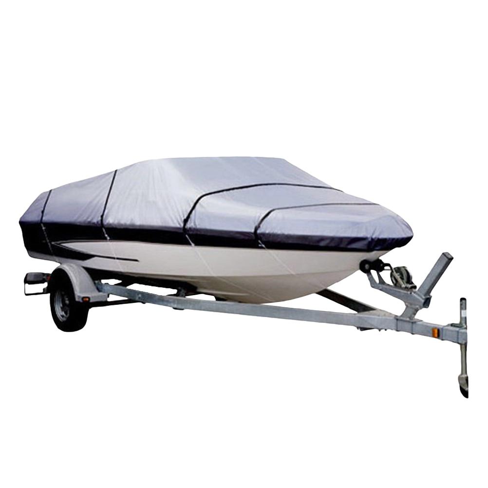Couverture de Ski de bateau en PVC Polyester imperméable à l'eau de qualité Marine 210D imperméable à l'eau pour bateau à coque en V Runabout A30