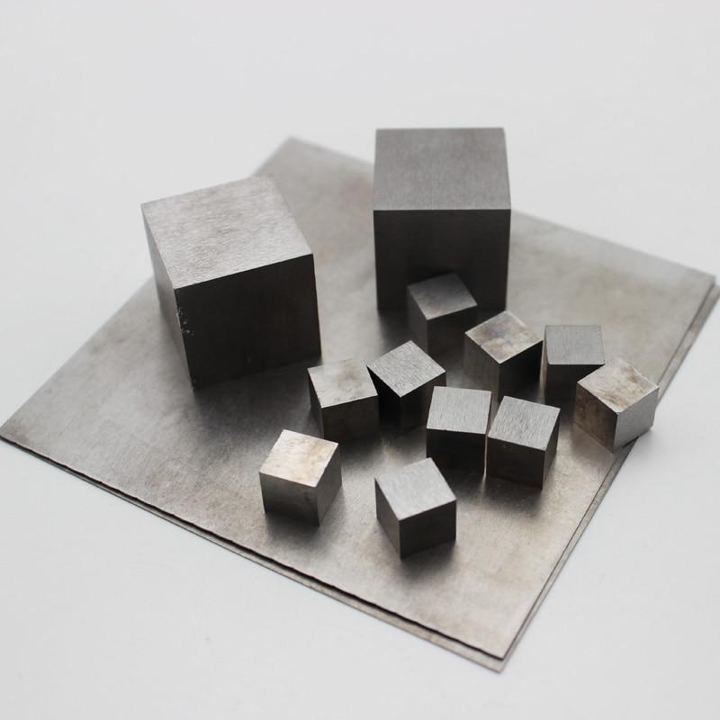 99.99% чистый вольфрамовый куб/листовая пластина
