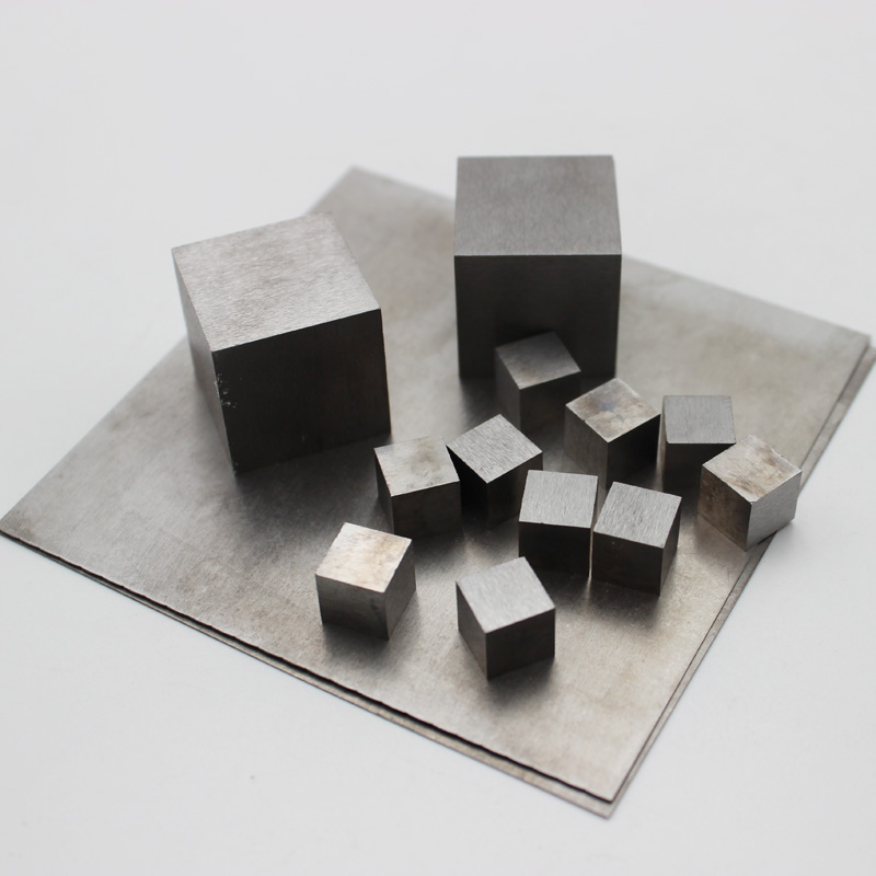 99.99% Pure Tungsten cube/sheet plate