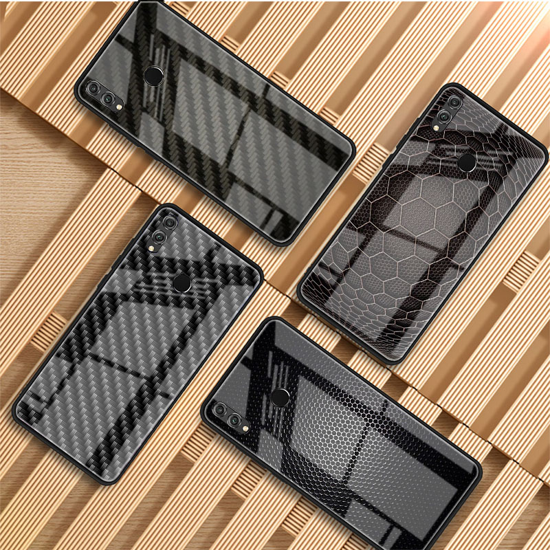 Чехол из углеродного волокна для телефона Huawei P20 P30 P40 P40 Lite Pro Psmart Mate 20 30