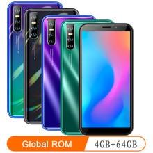 Мобильный телефон Note10 pro, 4 Гб ОЗУ 64 Гб ПЗУ, android 6,0