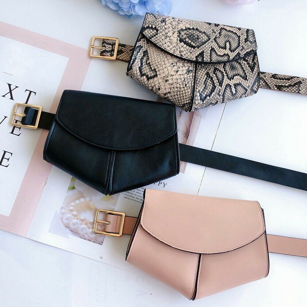 Fashion Snake Print Belt Bag New Women's Waist Bag Leisure Travel Heuptas Fanny Pack Mini Purse