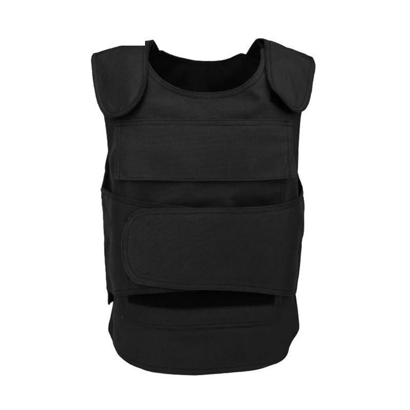 Safety Oxford Vest No Steel Plate Survival Tactical Vest Security Guard Bulletproof Protecting Clothes Insertable Steel Plate