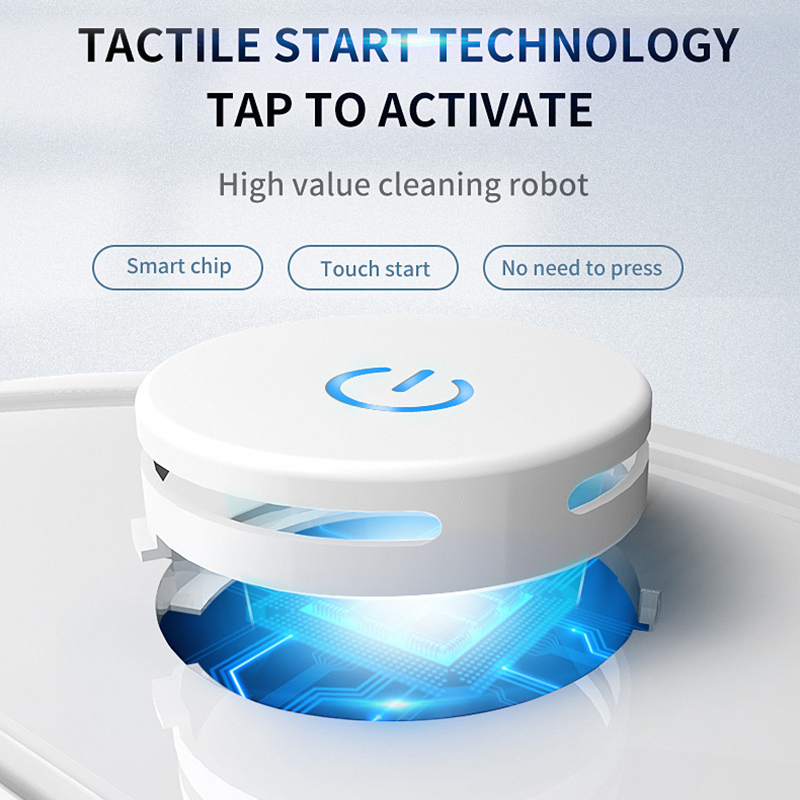 Smart Floor Robot Vacuum Cleaner Touching Rechargeable Thin Vacuum Cleaner HY99