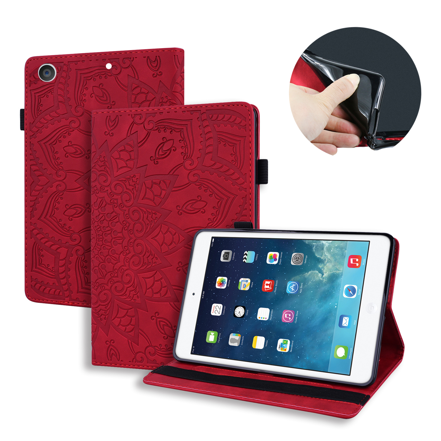 Case For iPad 10 2 inch 2019 Stand Auto Sleep Smart Folio PU Leather Cover For