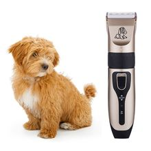 цена на Professional Electric Pet Hair Clippers Dog Fur Trimmer Grooming Hairdresser Kit Rechargeable Cordless Haircut Machine Shaver