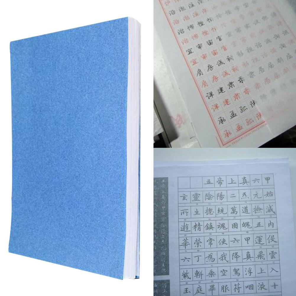 100Sheet/Pack Tracing Paper Copybook Paper Translucent Copying Writing Calligraphy For Stroke Paper Scra Drawing Stationery Z9D4