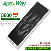 "ApexWaSilver 5600 mAh batterie d'ordinateur portable pour Apple A1185 A1181 Pour MacBook 13 ""MA701MC374 MC375 MB403 MB402 MB061 MB062 MB404 MB881(China)"