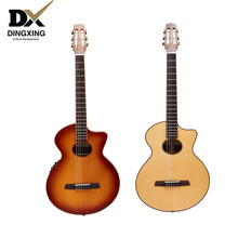 Professional Classical guitar 38 inch All Solid Wood musical Stringed instruments nylon string guitarra Spruce with pickup china 16 inch traditional china cymbals 40cm in diameter thickness 1mm professional musical instruments