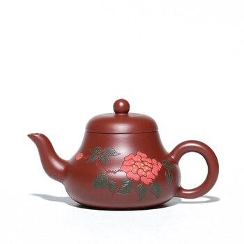 Yixing Original Mine Dahongpao Clay Teapot Hand-made Household Kungfu Black Tea Jin Jun Mei Oolong Teaware Free Shipping