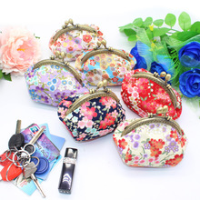 Summer Women Coin Purses Small Fresh Casual Pu Coin Wallet Lady Fashion Flower Pattern Cartoon Dollar Money Bag Carteras Mujer цена 2017