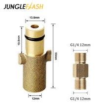 Jungleflash Hogedrukreiniger Adapter Voor Nilfisk Gerni Serie Verbinding Voor Sneeuw Foam Lance Foam Generator Pistool Auto Wasmachine