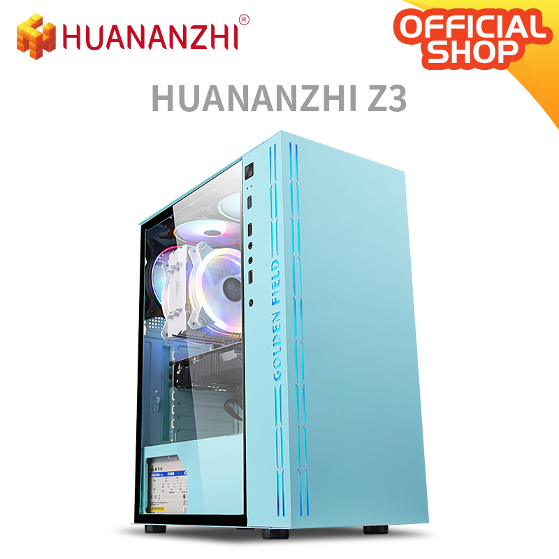 HUANANZHI Z3 ofis oyun E5 masaüstü bilgisayar cpu 2620V3 DDR4 2*8G oyun kartı GTX 1050TI 4G SSD 240G yüksek maliyet performansı PC