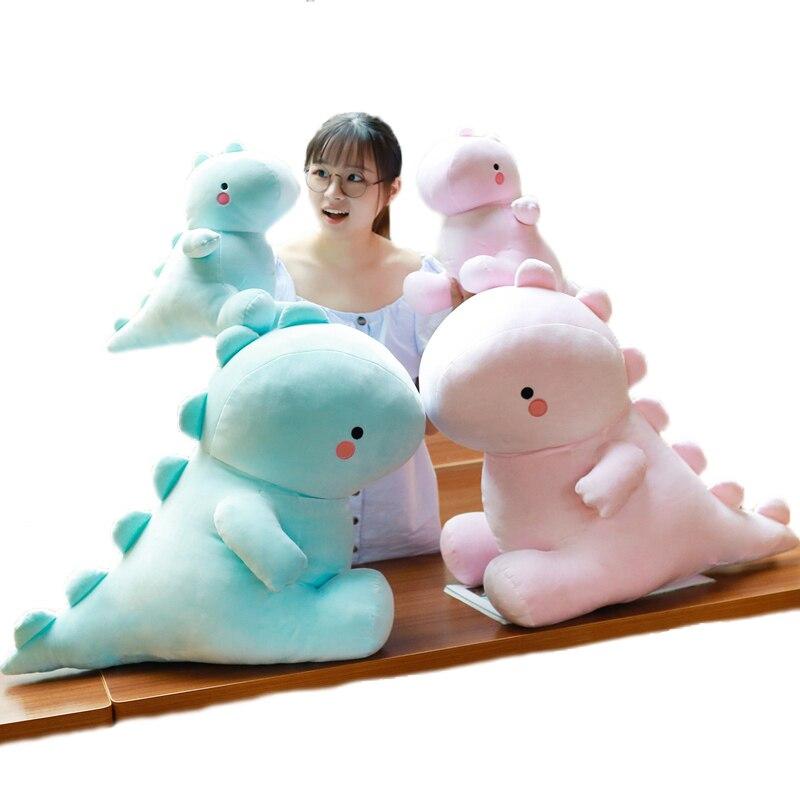 Azul suave Para Baixo Algodão Dinossauro Brinquedos de Pelúcia, Animais de Pelúcia Brinquedos, Brinquedos Do Bebê, Decoração Home, Presente de Aniversário