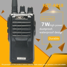 Walkie Talkie Imported Chip Civilian 5-10 km Wireless Call Waterproof Earthquake-Resistant Anti-Drop HZT-A818