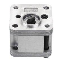 цена на 1Pcs Hydraulic Gear Oil Pump Metal Gear Pump Hydraulic DIY Model Excavating Machinery Tools Durable with Working Pressure 1-5Mpa