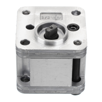 цена на 1Pcs Hydraulic Gear Oil Pump Metal Gear Pump Hydraulic DIY Model Excavating Machinery Tools Durable with Working Pressure 1-5Mpa