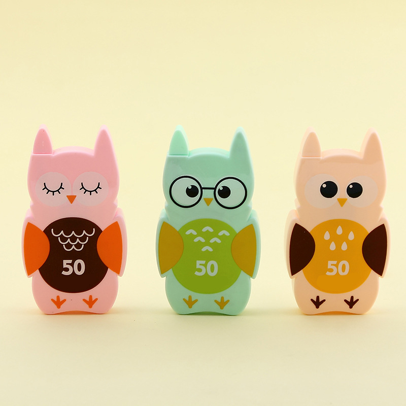 50M Kawaii Cute Owl Correction Tape School Office Supply Kids Student Stationery Corrective Eraser