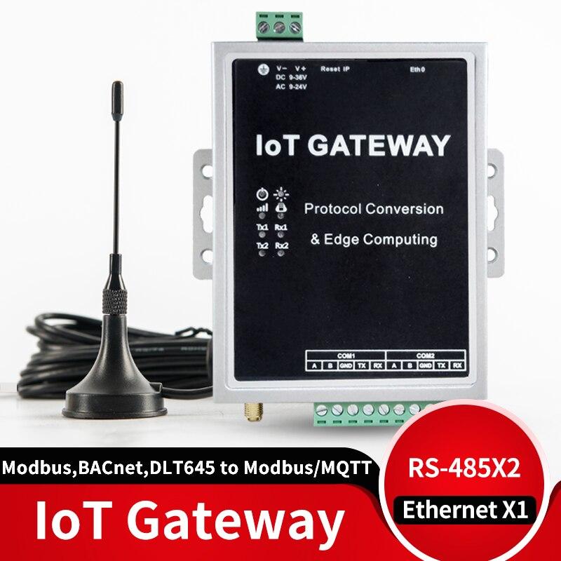 IOT шлюзовый модуль 4G поддерживает протокол ModbusRTU/TCP, BACnet, DLT645, MQTT