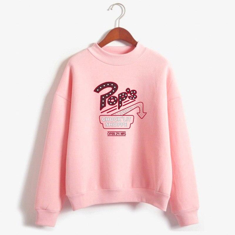 Riverdale - Pop's Chock'lit Shoppe South Side Snake Sweatshirt South Side Printed Women's Sportswear Women