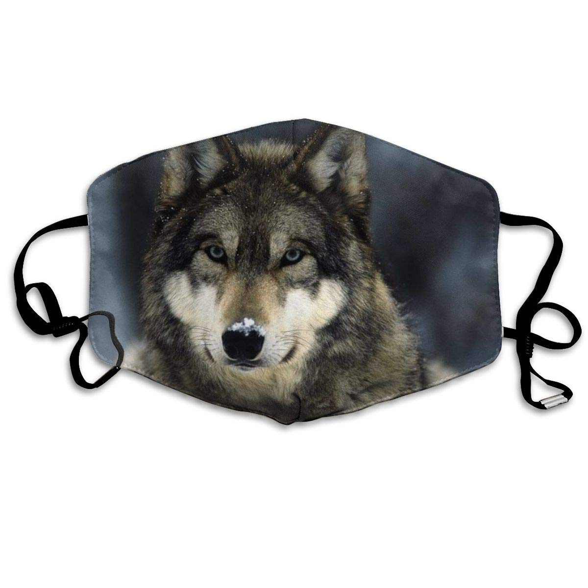 NiYoung Unisex Breathable Wolf Mouth Mask, Adjustable Earloop   Anti Dust Pollution Face Mask For Running Cycling Travel Skiing