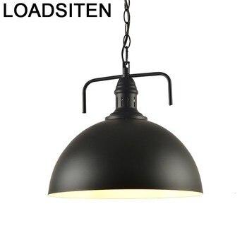 Moderna Comedor Nordic Industrial Pendant Light Lustre E Pendente Para Sala De Jantar Deco Maison Luminaria Hanging Lamp