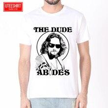 Men Jeff Bridges the lebowski Coen Brothers Women Harajuku Short Sleeves T shirt Unisex Skateboard Tshirt Clothes Streewear