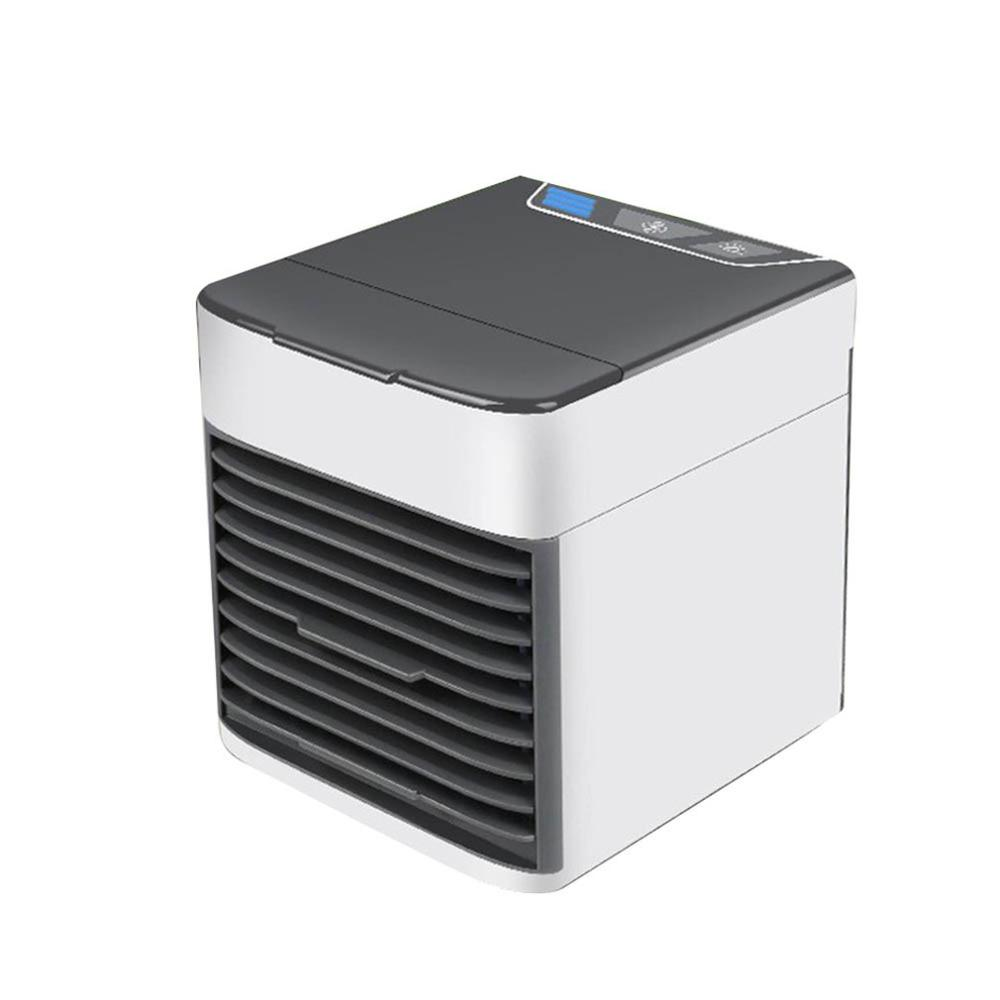 Mini Portable Air Conditioner Artic Air Cooler Household Small Leafless Personal Space Fan Air Cooling Fan Device