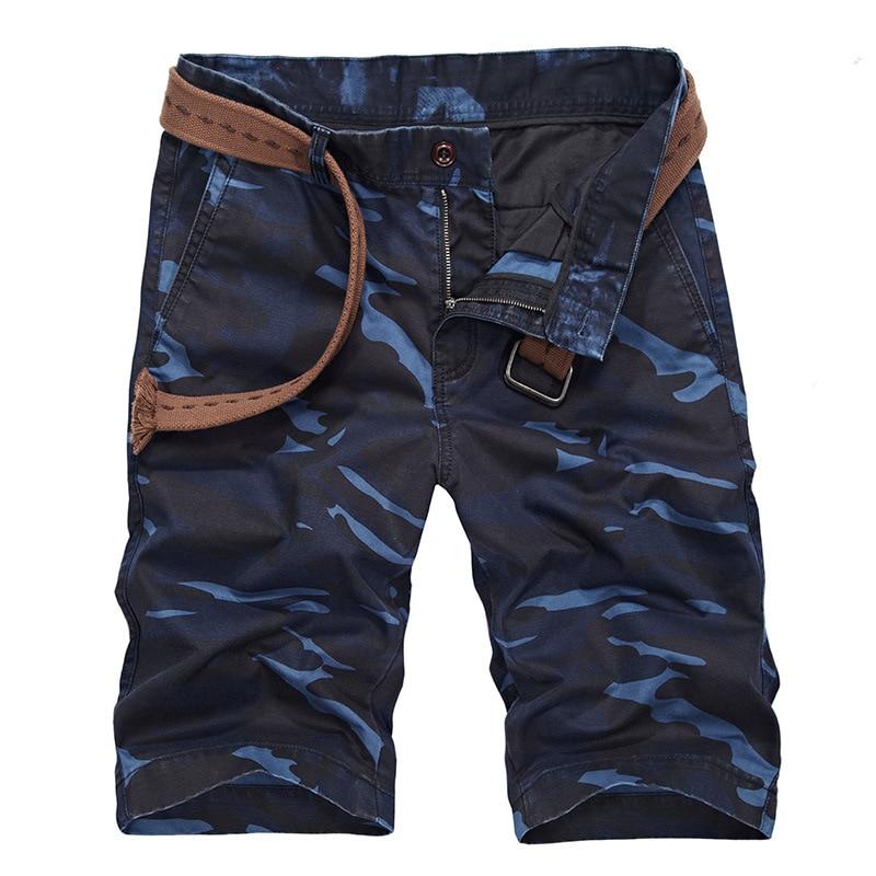 Shorts Men's Summer New Style Military Camouflage Bermuda Shorts Thin Multi-pockets Workwear Shorts 7736