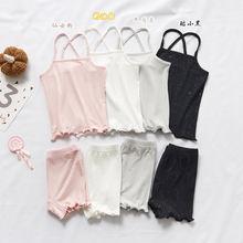 Летние комплекты одежды для девочек комплект из 2 предметов