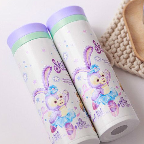 Cartoon Cute Duffy Bear Stellalou Thermos Cup Insulation Cup Stellalou Portable Water Cup Student Teacup For Women Men