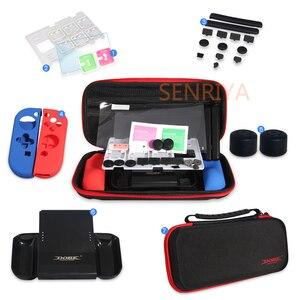 Image 2 - Estojo rígido para nintendo switch, capa protetora para cartão de jogo, bolsa para armazenamento de viagem con aperto