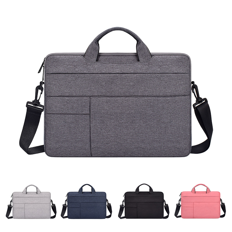 Laptop Bag 13.3inch 15.6inch Waterproof Notebook Bag Sleeve For Macbook Air Pro Computer Shoulder Handbag Briefcase Bag