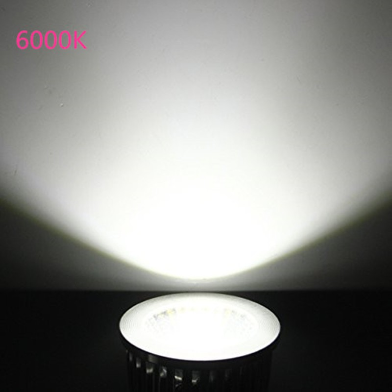 Купить с кэшбэком led spotlight bulb GU10 6w 220v 230v 240v cob lamp cool white 6500k nature white 4000k warm white 3000k dimmable spot light
