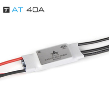 T-Motor AT series 2-4S 5V/5A Fixed-wing ESC AT 40A speed controller ESC support BEC output for RC fixed-wing airplane RC Model