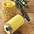 Edelstahl Einfach Zu Bedienen Ananas Corer Slicer 3 Farben Ananas Schäler Obst Cutter Slicer Messer Küche Werkzeug