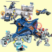 2019 New Superheroes Avengers 4 Fit Legoings Marvel Endgame Figures Building Blocks Bricks Toy 76123 76124 76125 76126