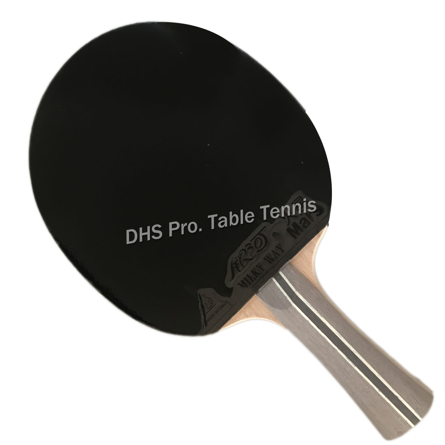 Milky Way Galaxy YINHE 04B 04 B 04-B Pips-in Shakehand Table Tennis Racket + A Bat Case Shakehand Long Handle FL