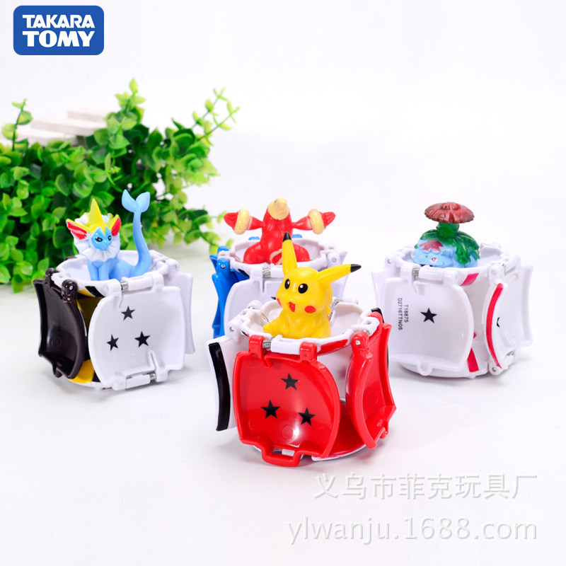1pcs-takara-tomy-font-b-pokemon-b-font-pikachu-font-b-pokemon-b-font-ball-1pcs-free-tiny-random-figures-inside-action-figures-toys