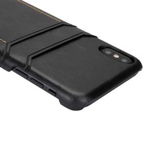 Image 2 - רטרו לכסות מקרה עבור iPhone XR XS 11Pro מקסימום 7 8 בתוספת כפולה כרטיס חריץ מקרה עבור galaxy S8 S9 הערה 9 10, MYL 1V3