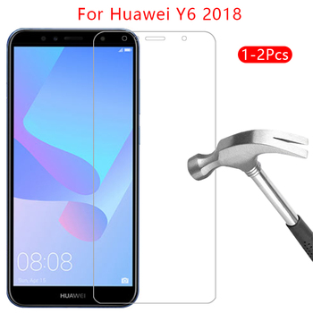 protective glass for huawei y6 prime 2018 screen protector tempered glas on y 6 6y y62018 y6prime film huawey huwei hawei huawi image