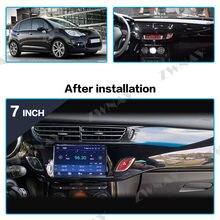 DSP Carplay Android 10 reproductor de pantalla para Citroen C3 DS3 2011, 2012, 2013, 2014, 2015, 2016 Audio de coche Radio Estéreo GPS Navi unidad de cabeza