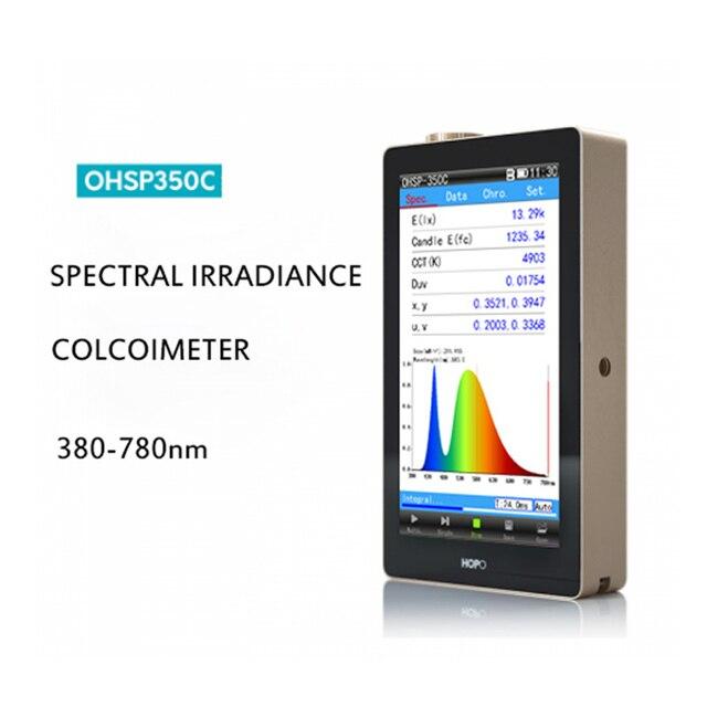 Hopoocolor OHSP350C CCT spectromètre CRI