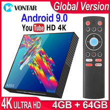 TV Box Android 9.0 A95X R3 Smart TV Box 4GB RAM Android TV Box 9.0 USB3.0 Dual Wifi Netflix Youtube 4K Media Player pk X96 mini 2019 best stable media player smart tv box netflix youtube h96max max rk3318 android tv box 2 4 5 0g wifi h 265 tv set top box