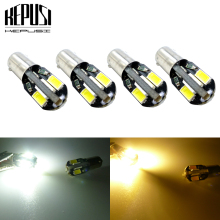 4pcs 12V T11 BA9S 8SMD LEDs Bulb T4W 3886X H6W 5630 Super Bright LED Car Interior Dome Map Light Signal Lamp White yellow amber for car lighting 10pcs lot t11 ba9s 5050 5 smd led white light bulb car light source car 12v lamp t4w 3886x h6w 363 mayitr