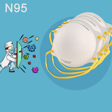 PM2.5 face mask N95 Bacteria Proof Disposable Surgical Dust Mask Activated carbon Filter Anti Smog Cotton Mask Corona Virus Mask