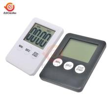 Супер Мини ЖК-цифровой электронный таймер квадратный кухонный кулинарный будильник прямого и обратного счета сна секундомер часы