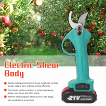 Pruning Shear Battery Cordless Landscaping-Tool Bonsai Branches Fruit-Tree 21V with Efficient